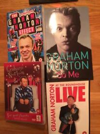 Graham Norton Book and DVDs