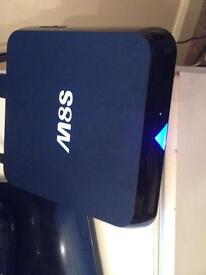 M8S wifi android box fully loaded not firestick