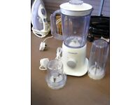 Kenwood Blender with 2 Attachments For Smoothie etc