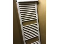 White Towel Rail/Towel Radiatior - BNIB 1750 high x 450 wide