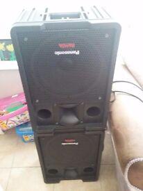 Complete karaoke disco ramsa studiomaster vision