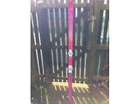 Ladies dynastar skis , ski bag and poles