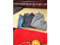 Assortment of boys trousers