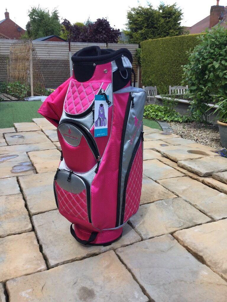 Ladies Green Lamb Golf Bag