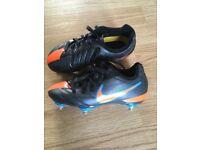 Nike football boots - boys