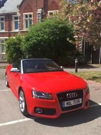 Audi A5 3L TDI Convertible, Top Spec low mileage
