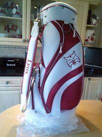 Lynx Golf bag NEW £45