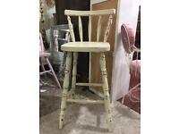 kitchen solid pine shabby stool