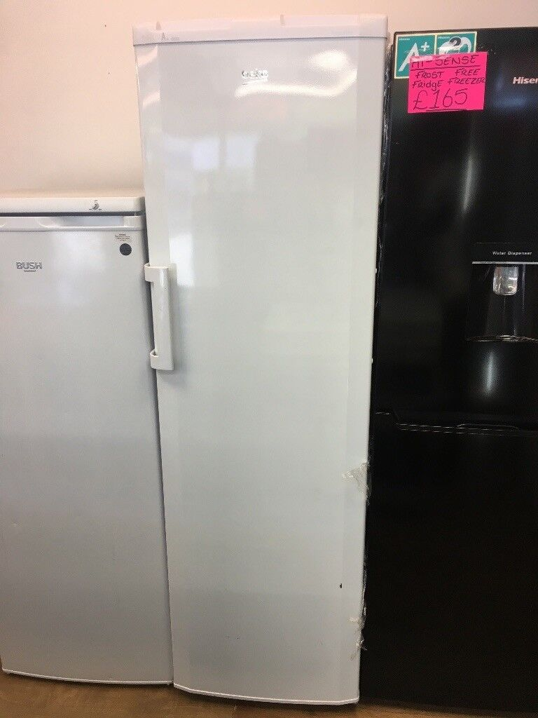 BEKO FROST FREE TALL UPRIGHT FREEZER IN WHITE