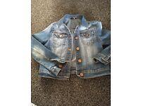 Girls Denim jacket !! 7-8 yrs !!