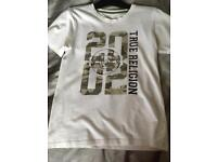 True religion t shirt top age 14-15 years