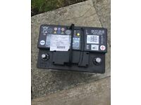 Vag efb car battery 59 amp,start/stop. VW,Skoda,Audi,seat