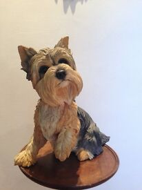 Country Artists Figurine Yorkshire Terrier 12""