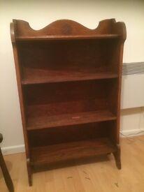 Vintage Oak Book Case