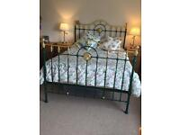 Brass Knight Antique bed.