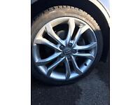 Genuine Audi S3 alloys. SWAP