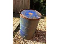 200ltr steel oil drum. Empty. Free of charge