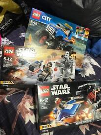 Lego Star Wars and Lego city