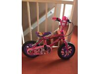 Girls mini mouse bike for sale
