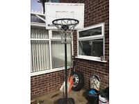 Basket ball with stand