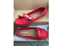 Red shoes small size 4.5 - 5