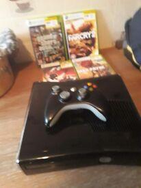 Xbox 360 slim line vgc one controller 4games