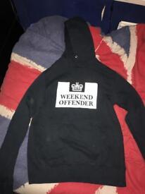 Weekend offender black men's jumper size small