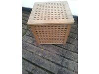 WOODEN STORAGE BOX OR COFFEE TABLE