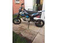 Wpb 160cc pitbike (stomp)
