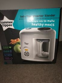 Tommee Tippee food steamer blender