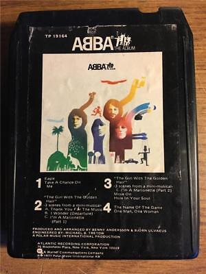ABBA THE ALBUM VINTAGE RARE 8 TRACK TAPE TESTED LATE NITE BARGAIN!