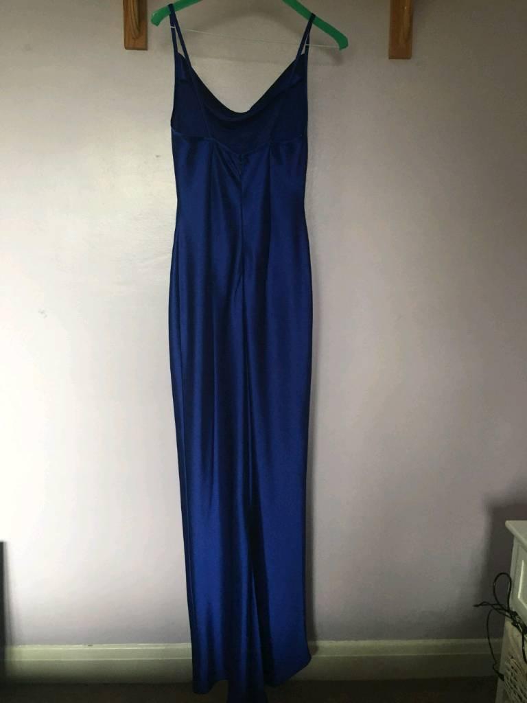 Electric Blue Cocktail Dress