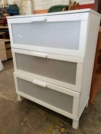 Modern ikea 3 drawer chest