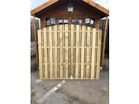 Fence panel Double sided pailing