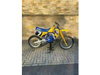 Suzuki rm125 1987 evo motocross bike