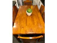 Beautiful Solid Wood 6 Seater Dining Table