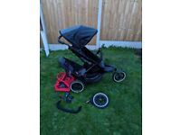 Phil and Ted's double buggy pram pushchair