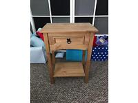 Wooden side table. Lamp table. Excellent Condition.