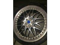 Genuine Konig rims, Pirelli tyres very good condition