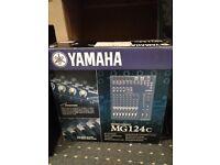Yamaha MG124c Mixing desk *As new*