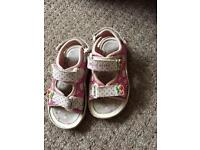 Hello kitty sandals size 7