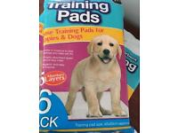 puppy training pads-6 packs