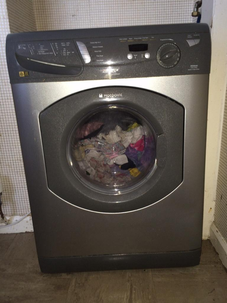Hotpoint Aquarius Washer Dryer WD640 Spares or Repair | in ... on central air fuse box, condenser fuse box, furnace fuse box, air conditioner fuse box, hot tub fuse box, hood fuse box, air conditioning fuse box, electric fuse box, garage fuse box, heater fuse box, swimming pool fuse box, sump pump fuse box, generator fuse box, dryer exhaust pipe, ac fuse box,