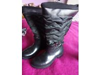 Wellie Boots Quilted 6 new