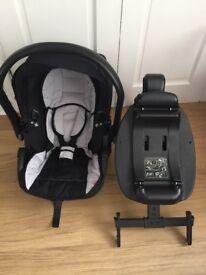 Kiddicare Isofix Car seat and Isofix base