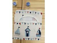 Hand crafted Seaside theme Peg Bag