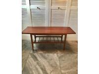 Retro mid century coffee table