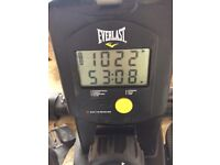 Everlast rowing machine, 2 years old selling due to ill health. Only has small signs of wear