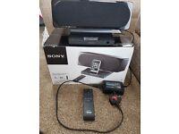 Sony SRS GU 10IP speaker dock