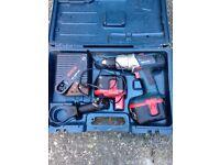 24 volt combo hammer drill